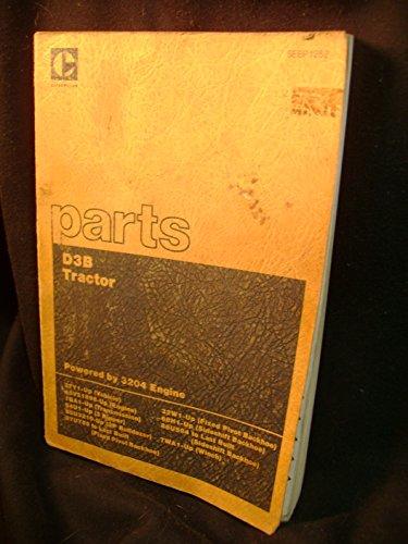 (Caterpillar D6D Tractor Powershift Parts Catalog Manual)