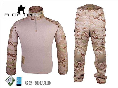 Airsoft caza táctico militar para Bdu combate G2uniforme camiseta pantalones Multicam Aird Tactical Outdoor