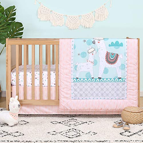 Llama Love 4 Piece Animal Theme Crib Bedding Set