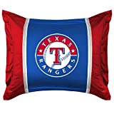 Texas Rangers SIDELINES Jersey Material Pillow Sham