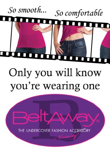 Beltaway Flat Buckle No Show Adjustable Belt, The Virtually Invisible Belt