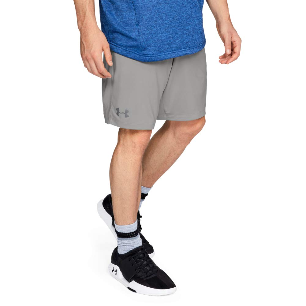 UNDER ARMOUR mens MK1 Shorts, Tin (558)/Graphite, XX-Large by Under Armour