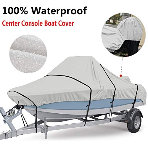 RVMasking Center Console Boat Cover (17′-19′ Long, up to 102 inch Beam Width)