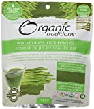 Organic Traditions - Wheat Grass Juice Powder - 5.3 oz