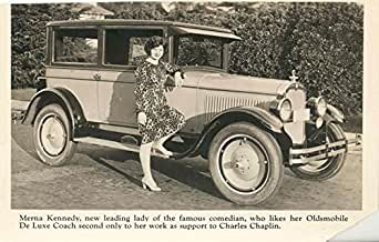Factory Photo 1926 Oldsmobile Four Door Sedan Ref. #60171