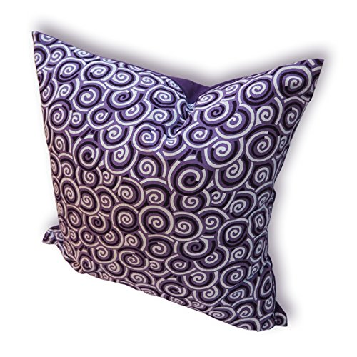 tamarind-bay-18-in-luxury-pattered-pillowcase-with-abstract-circular-motif-purple