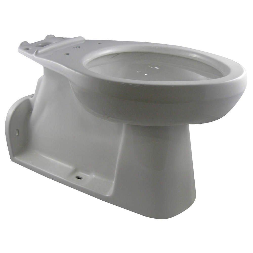Gerber 21-375 Elongate Toilet Bowl Only Floor Mount - White