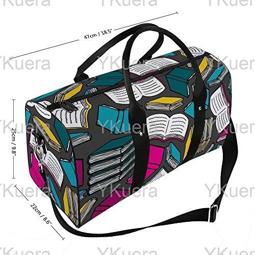 本ポップカラー1 旅行バッグナイロンハンドバッグ大容量軽量多機能荷物ポーチフィットネスバッグユニセックス旅行ビジネス通勤旅行スーツケースポーチ収納バッグ