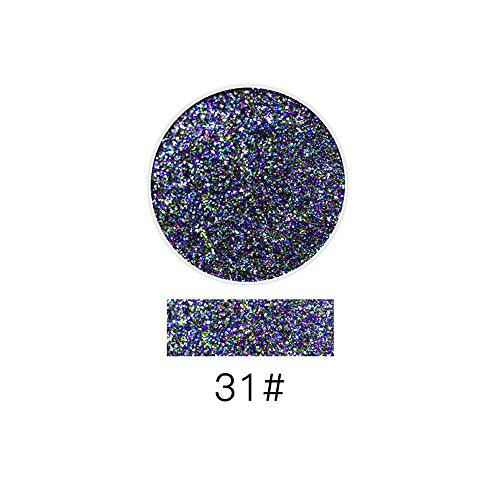 SMYTShop Halloween Party Glitter for Eyeshadow / Eye Shadow Shimmer Makeup Powder Diamond Lip Powder (31 Days Of Halloween Makeup)