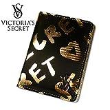 VICTORIA'S SECRET ヴィクトリアシークレット ビクトリア パスポートケース ブラック 並行輸入品 A9015