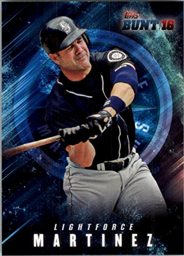 2016 Topps Bunt Light Force #LF17 Edgar Martinez (Flashlight Light Force)