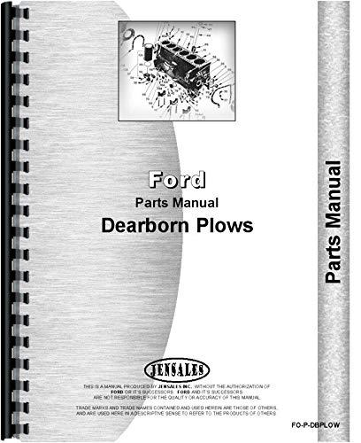 Dearborn 10-1 Plow Parts Manual