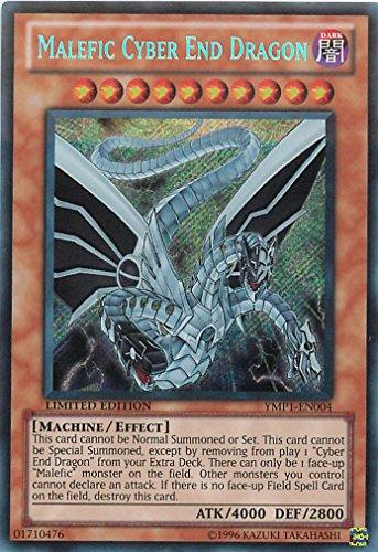 Yu-Gi-Oh! - Malefic Cyber End Dragon (YMP1-EN004) - 3D Bonds Beyond Time Movie Pack - Limited Edition - Secret ()