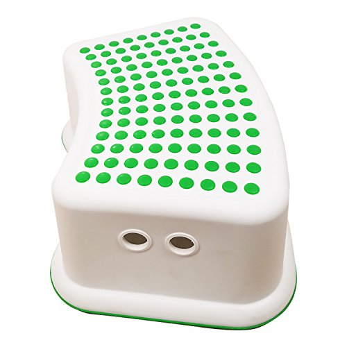 Kids Green Step Stool Great For Potty Training Bathroom
