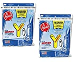 y vaccum bags - Hoover Type Y Allergen Bag (6-Pack), 4010100Y