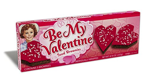Little Debbie Valentines Days Snack Cakes and Treats 2 Boxes (Iced Brownie)