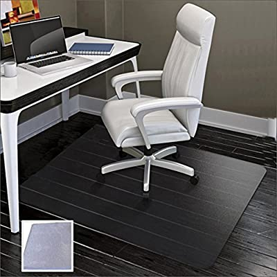 SHAREWIN Office Chair Mat for Hard Floors,Heavy Duty Clear Wood/Tile Floor Protector PVC Transparent