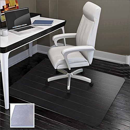 Large Office Chair Mat for Hard Floors - 59''×47'',Heavy Duty Clear Wood/Tile Floor Protector PVC Transparent by SHAREWIN