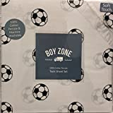 Boy Zone SOCCER BALLS 3-pc. TWIN Sheet Set | 100% Cotton