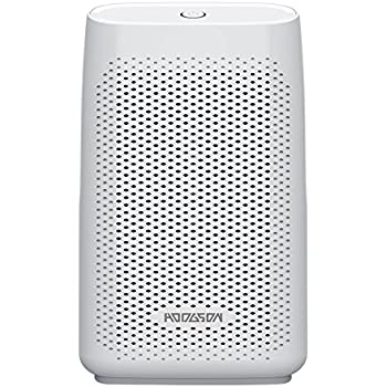 HODGSON Auto Mini Dehumidifier 700ML Thermo-Electric Portable Large Capacity Tank 200 Sq Ft Ultra Quiet for Small Rooms, Home Basements Bathroom Bedroom Caravan Garage Closet Wardrobe, White