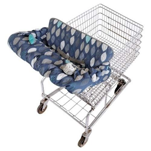 Bauer Chairs - Eddie Bauer Reversible Cart and High Chair Cover Blue