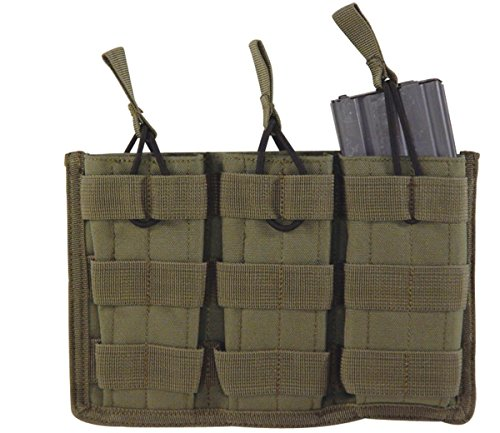 Voodoo Tactical Men's Open Top Mag Pouch with Bungee System