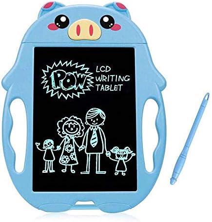 GSAGJyec Dibujo LCD Luz de los niños Tarjeta electrónica Energía Tablero de Escritura Junta de Dibujos Animados Lindo de la Pintada del Color de Mesa Niño Niños y Niñas Juguetes: Amazon.es: Hogar