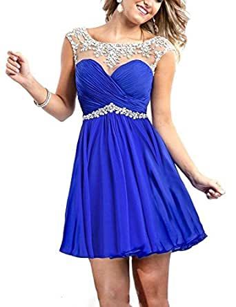 Amazon.com: Babyonline Cheap Homecoming Dresses New Short