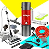 allegro mu4500 champion 6000 square foot home central vacuum system 35 foot electric hose