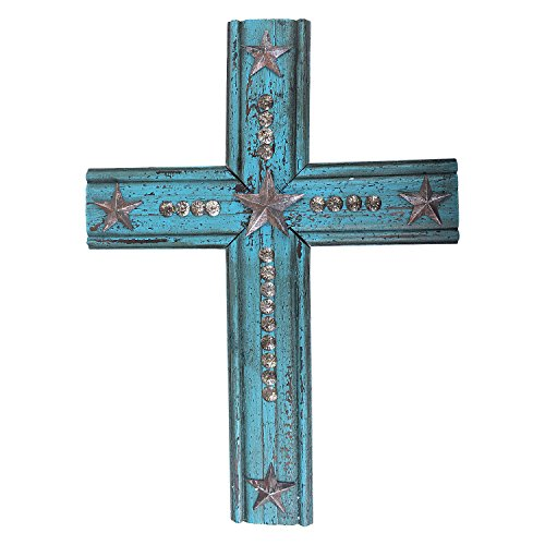 Turquoise Cross Wall (20