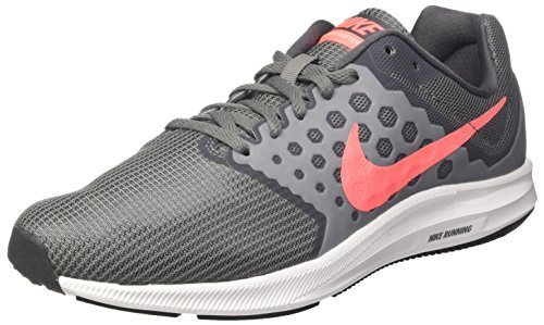 Nike Wmns Downshifter 7 Wide, Sneakers Basses Femme Blanc (blanc)