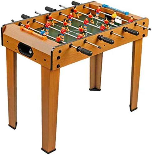 AK Fútbol de mesa de futbolín diversión de la familia de juegos con patas de mesa de fútbol, fútbol Set incluye 18 hombres, 2 pelotas, 2 Goleadores,A: Amazon.es: Bricolaje y herramientas