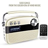 SAREGAMA Carvaan SC01 Portable Digital Music Player (Porcelain White)