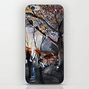 Banytree Autumn rain - watercolor Hard Plastic Case iphone 6 Case