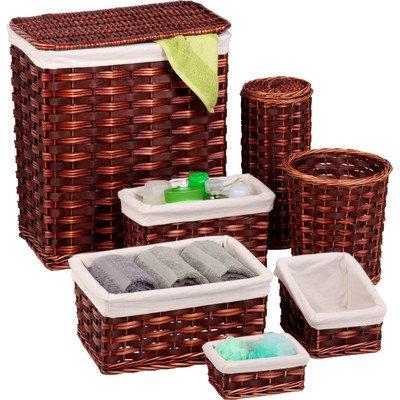 honey-can-do-7-piece-wicker-hamper-kit-brown