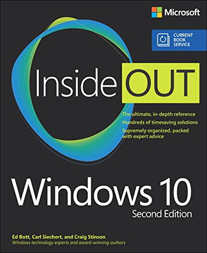 1509304851 - Windows 10 Inside Out (includes Current Book Service) (2nd Edition)