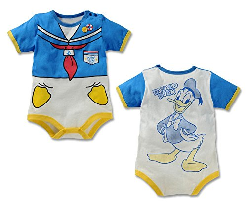 StylesILove Cute Character Baby Boy Jumpsuit (95/12-18 Months, Donald Blue)