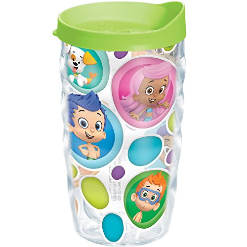 Tervis Nickelodeon Bubble Guppies Wavy Tumbler with Lime Green Lid, 10-Ounce