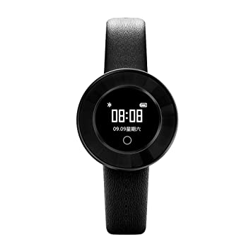 Cebbay Reloj Inteligente Pulsera Actividad Pulsera Inteligente Pantalla Color Reloj Impermeable IP68 con Monitor de Ritmo