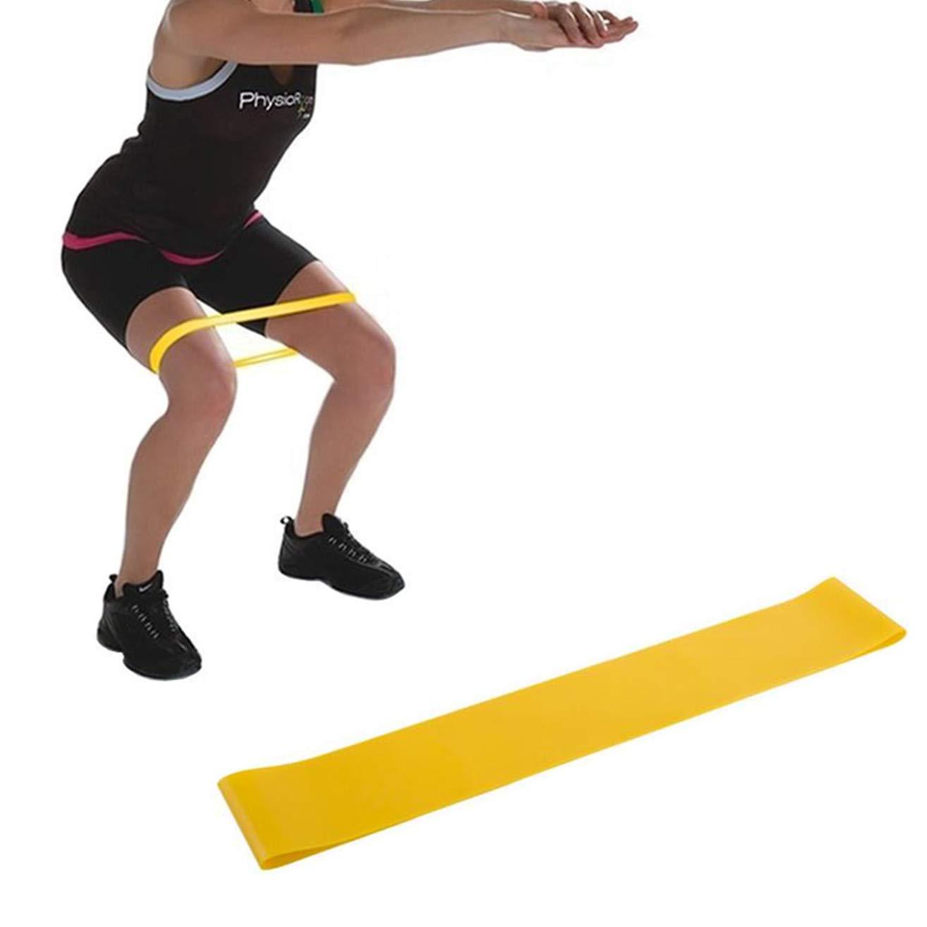 Haikingmoon Cinta Elastica Fitness - Bandas Elasticas de Fitness - Bandas Elásticas - Loop Band - Resistance Bands - Elastico Fitness - Pilates Fuerza ...