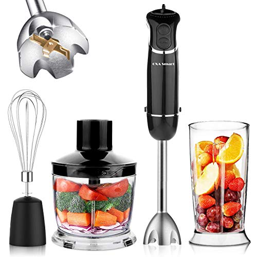 OXA Smart 800W 12-Speed Immersion Hand Blender Set Includes BPA-Free Food...