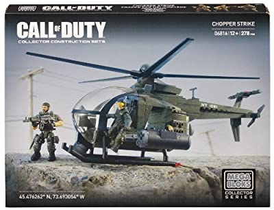 Mega Bloks® Call of Duty®, Chopper Strike - Model #06816