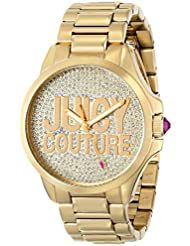 Juicy Couture Womens 1901148 Jetsetter Analog Display Quartz Gold Watch