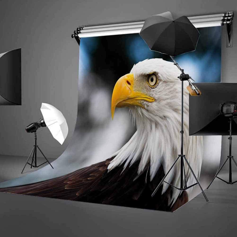 10x15 FT Backdrop Photographers,Photo of The Head of Freedom Symbol in America with Blurred Background Background for Kid Baby Boy Girl Artistic Portrait Photo Shoot Studio Props Video Drape Vinyl
