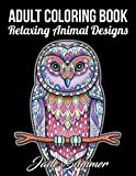 #9: Adult Coloring Book: 50 Relaxing Animal Designs with Mandala Inspired Patterns for Stress Relief
