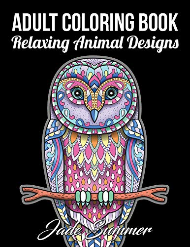 Pdf History Adult Coloring Book: 50 Relaxing Animal Designs with Mandala Inspired Patterns for Stress Relief