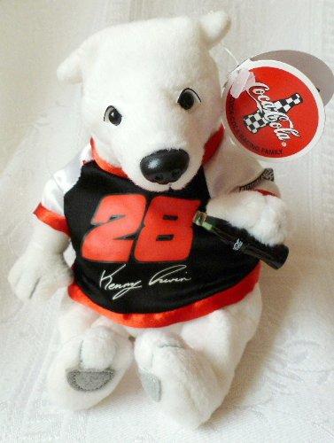 Coca Cola Bean Bag Plush NASCAR Driver Kenny Irwin (Nascar Driver Bean Bag)