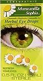 Manzanilla Sophia, Herbal Eye Drops with