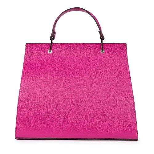 Santa Firenze , Damen Schultertasche rosa fuchsia