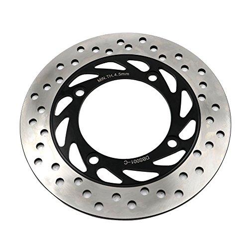 Alpha Rider Motorcycle Stainless Steel Rear Right Brake Discs Disk Rotor for Honda CB 250 1991 - 2006 | CB 400 1992 - 1998 | VTEC 400 1999 - 2012 | CB 500 1997 - 2003 | CB 500 S 1998 - 2002 by Alpha Rider